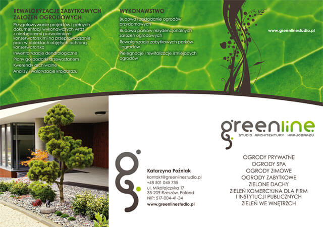 Folder Green Line Studio